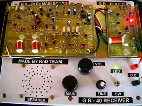 GR-40 Rx. model demo V1.0
