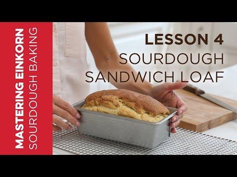 Einkorn Sourdough Sandwich Loaf - Mastering Einkorn Sourdough Baking: Lesson 4