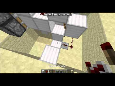 Minecraft (1.6.2) Piston Elevator Tutorial [Simple/Fast/Infinite]