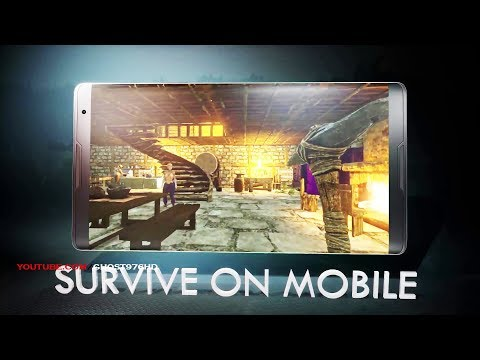 ARK- Survival Evolved on Mobile ! FIRST LOOK ANDROID-IOS PRE -REGISTRE 2018