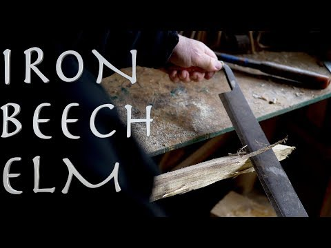 IRON. BEECH. ELM. Can I build a crossbow from scrap? Part 1. The Main Parts.