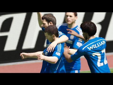 FIFA 15 (PS4): Liverpool vs Chelsea (Barclays Premier League Sim)