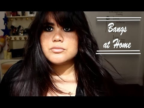 ✂️ How To Cut Bangs For a Round Face Shape | DIY ✂️