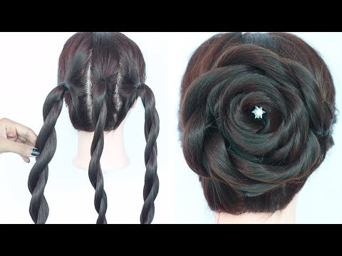 Very Easy Trick For Rose Juda Hairstyle Easy Hairstyles