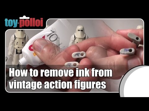 Fix it guide - Ink removal from action figures