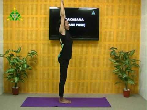Improve blood circulation with Crane Pose