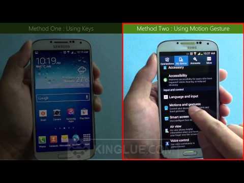 [FREE] How do i take screenshots on my Samsung GALAXY S4 ?