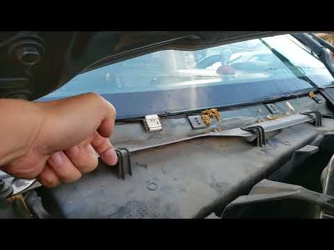 2006 ford escape hybrid cabin air filter change