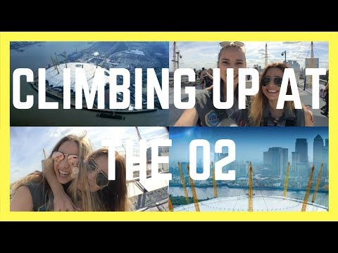 CLIMBING UP AT THE O2 || London Couple Travel Vlog 019