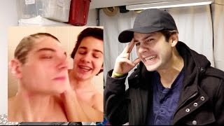 REACTING TO MY CRINGEY VINES!!