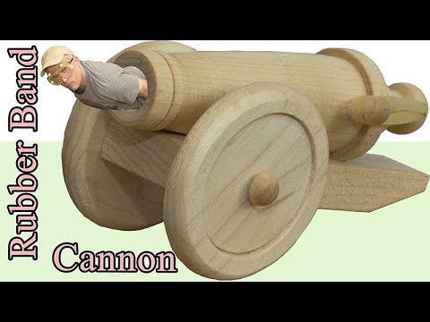 Rubber Band Cannon