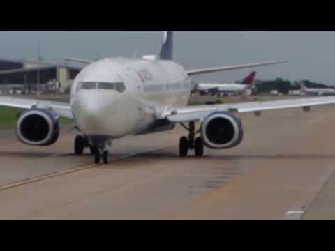 Alaska Airlines Flight 91: Boeing 737-900 Takeoff from Tampa, FL, In flight and Land in Seattle, WA