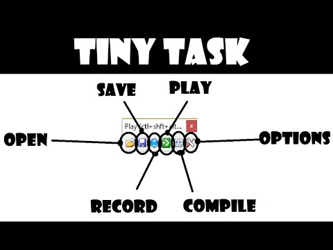 TinyTask - Macro mouse and keyboard recorder free