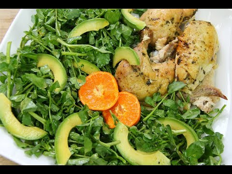 Avocado, Watercress Salad with a Clementine Vinaigrette | CaribbeanPot.com