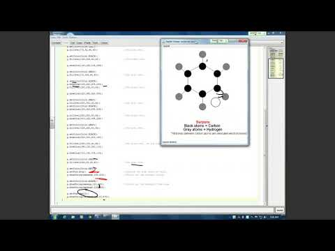 Benzene Java Applet by Dan M