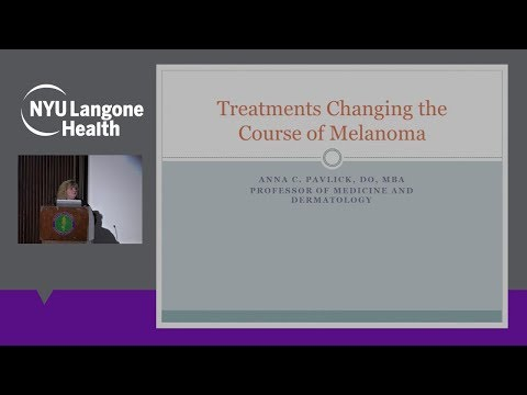 Treatments Changing the Course of Melanoma