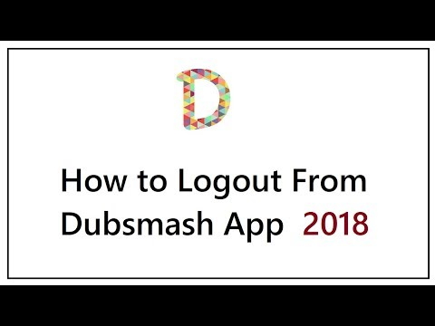 How to Logout from Dubsmash App