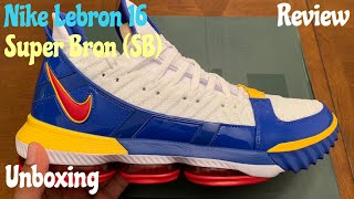 c33cb5fe16ed Nike Lebron 16 Super Bron (SB) aka Superman. Unboxing w  McFly KOF