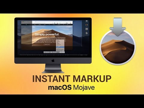 How to use Instant Markup on macOS Mojave