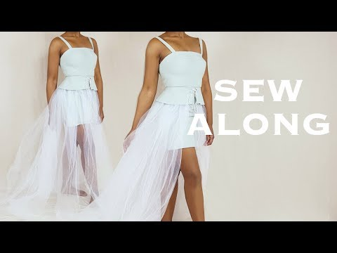 DIY 2-in-1 (Part 2): Detachable Tulle Skirt (Sew Along)