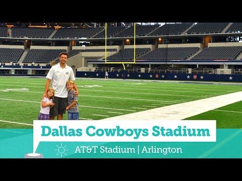 Dallas Cowboys Stadium - VIP Tour - (AT&T Stadium) - Viagem com Crianças | Ases a Bordo