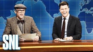 Weekend Update: Supercentenarian Mort Fellner - SNL
