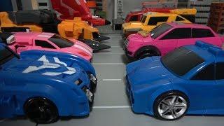 미니특공대X 자동차 로봇 변신 장난감 놀이 Miniforce X New & Old Car Robot Toys