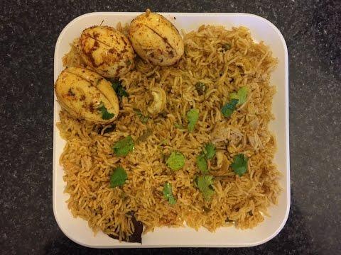 How to make Egg Biryani/Biryani in Telugu