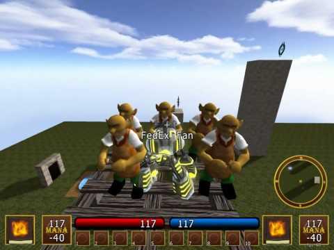 Platforms in RPG Maker Mode - Platinum Arts Sandbox Free 3D Game Maker