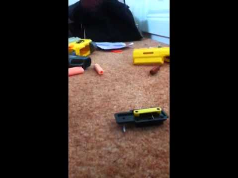 How to make a scope for your nerf gun