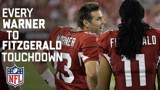 Every Kurt Warner To Larry Fitzgerald Touchdown Pass! | NFL Highlights