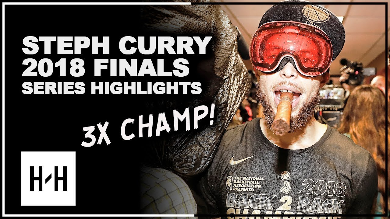 Stephen Curry EPIC Full Series Highlights vs Cavaliers 2018 NBA Finals - 3x CHAMPION!