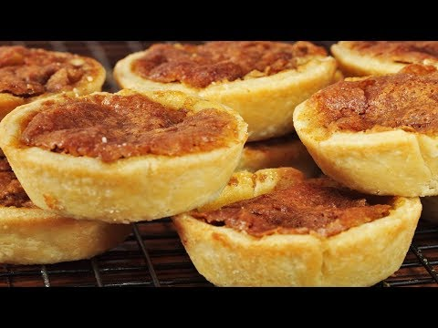 Butter Tarts Recipe Demonstration - Joyofbaking.com