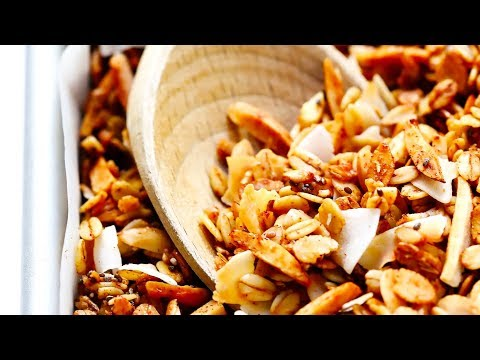 The BEST Healthy Granola Recipe!