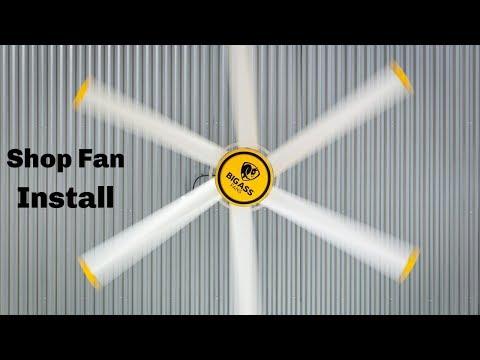 Installing Shop Fans - Big Ass Fans