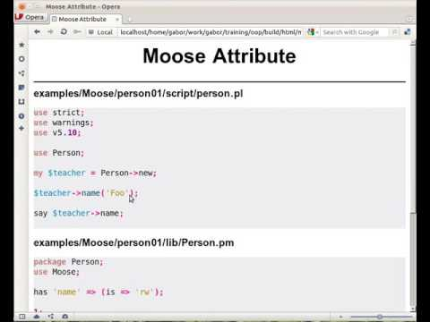 Moose constructor for Perl 5 classes