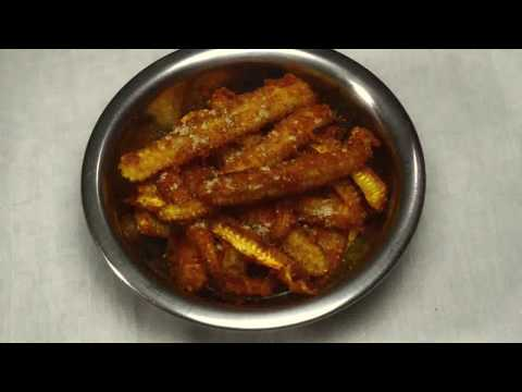 How to do Baby corn fry