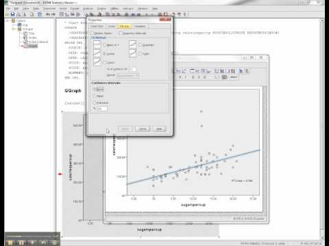 Scatterplots and Correlation Coefficients in SPSS