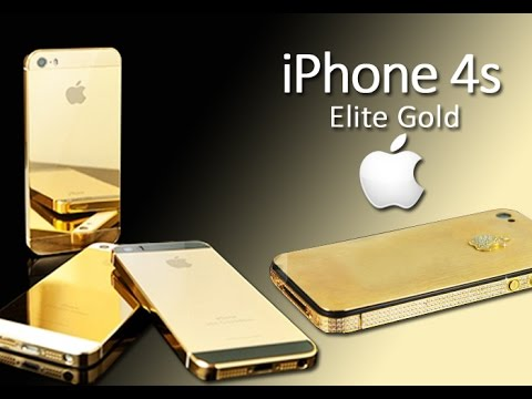 iPhone 4S Elite Gold - 'The World's Most Expensive Phone Review' - by mOnash cReaTion