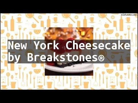 Recipe New York Cheesecake by Breakstones®