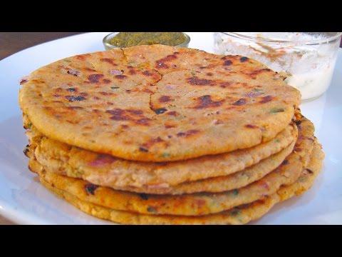 Missi Roti Recipe From North Indian Cuisine By Sonia Goyal @ ekunji.com