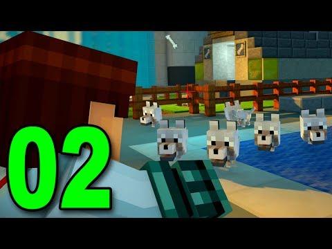 Minecraft: Story Mode - Part 2 - WOLF PUPPIES!