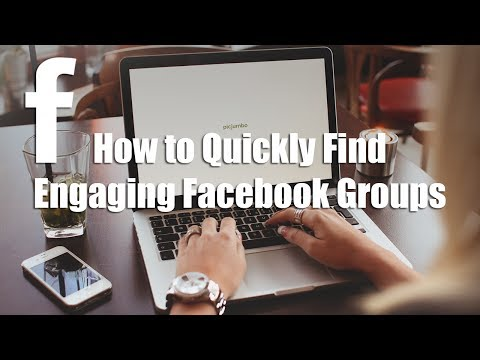 How to Find Facebook Groups with a Facebook Search