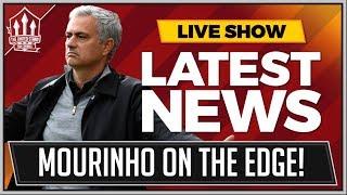 Mourinho Unsure On Manchester United Future Man Utd News