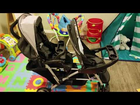 How to Setup Graco DuoGlider For Car Seat Use.