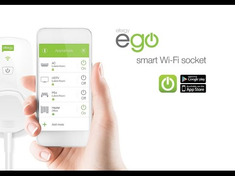 Our ego smart socket and app- Monitor and control your energy use on the go!