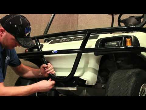 Brushguard for Club Car® DS® | How to Install Video | Madjax® Golf Cart Accessories