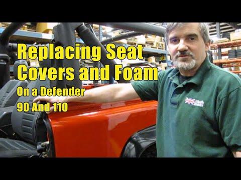 Atlantic British Presents: Replacing Seat Covers and Foam on Defender 90
