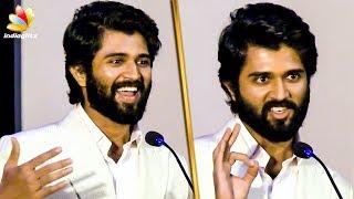 நான் கூட மரண Waiting! : Vijay Devarakonda Mass Speech | Nota Movie Press Meet