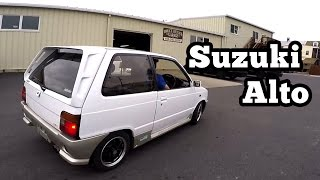 1987 Suzuki Alto walk-around